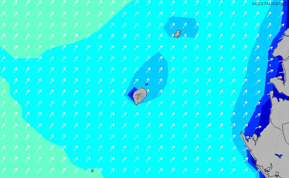 2021/5/9(日)6:00波高チャート