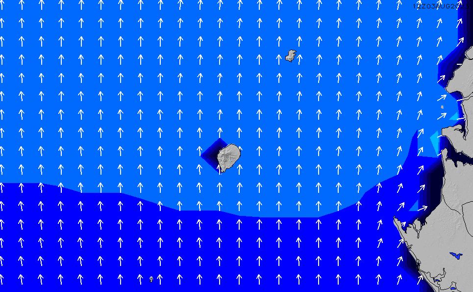 2020/3/29(日)6:00ポイントの波周期