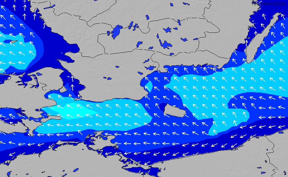 2021/2/28(日)19:00波高チャート