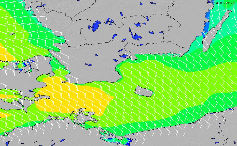 2020/9/23(水)20:00風速・風向