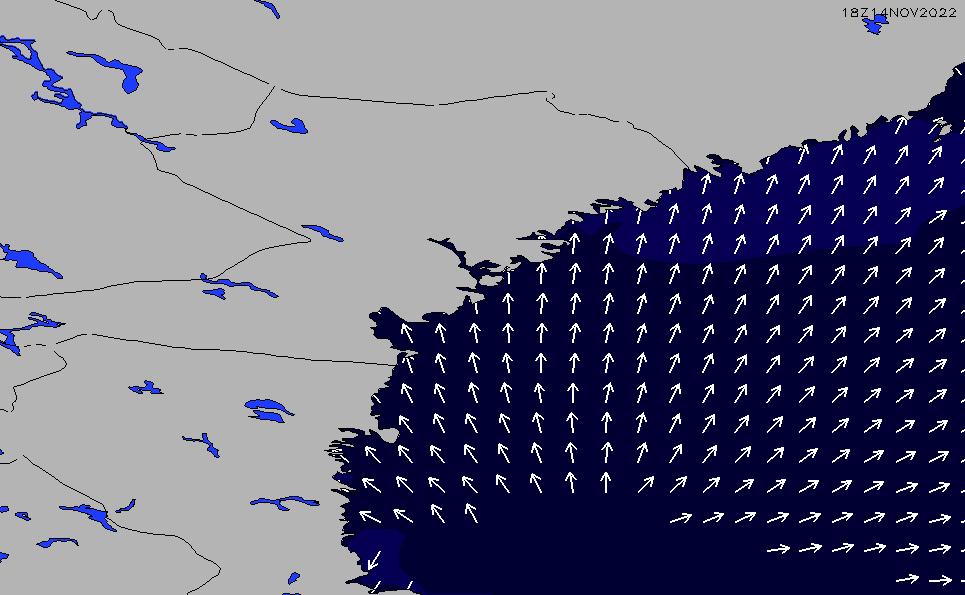 2021/5/11(火)14:00ポイントの波周期