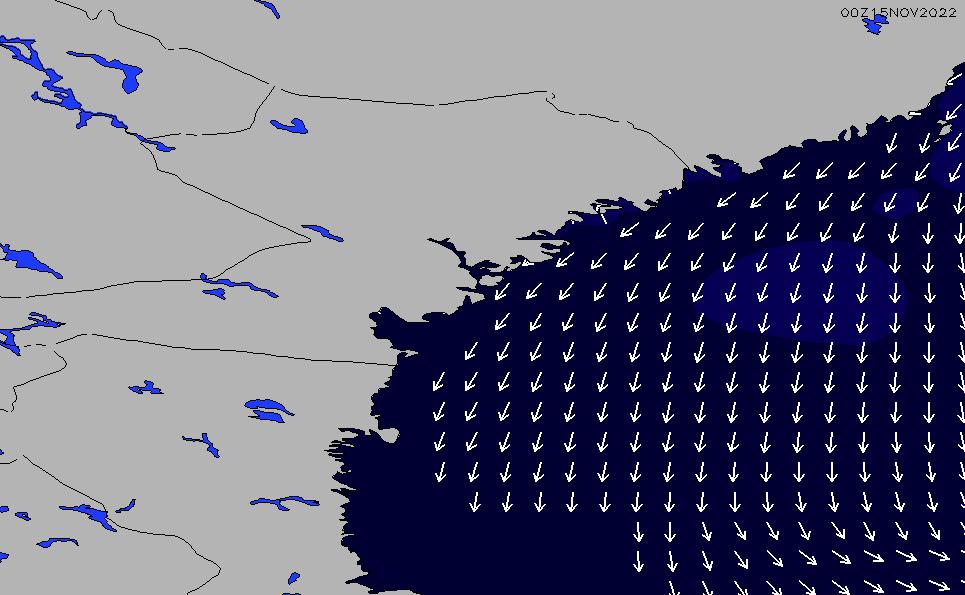 2021/4/11(日)20:00ポイントの波周期