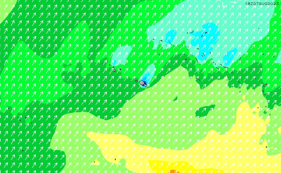 2021/3/2(火)16:00波高チャート