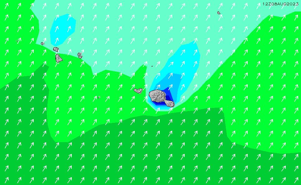 2020/10/29(木)10:00波高チャート