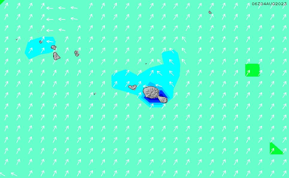 2020/9/20(日)10:00波高チャート