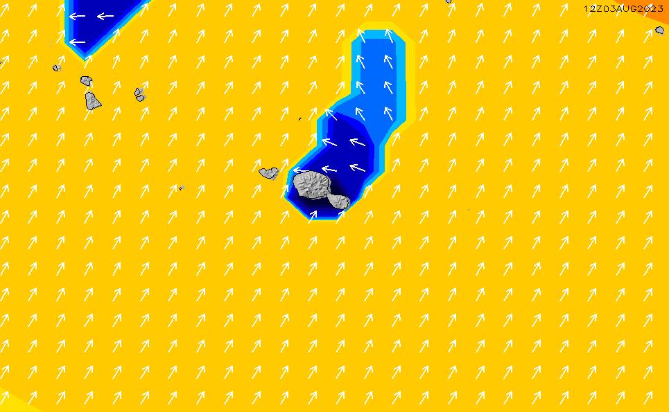2020/4/2(木)22:00ポイントの波周期