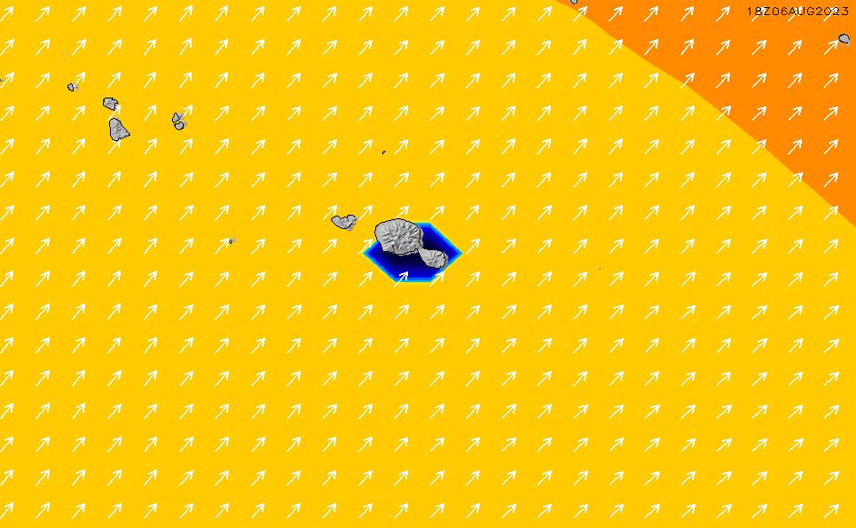 2020/10/1(木)22:00ポイントの波周期