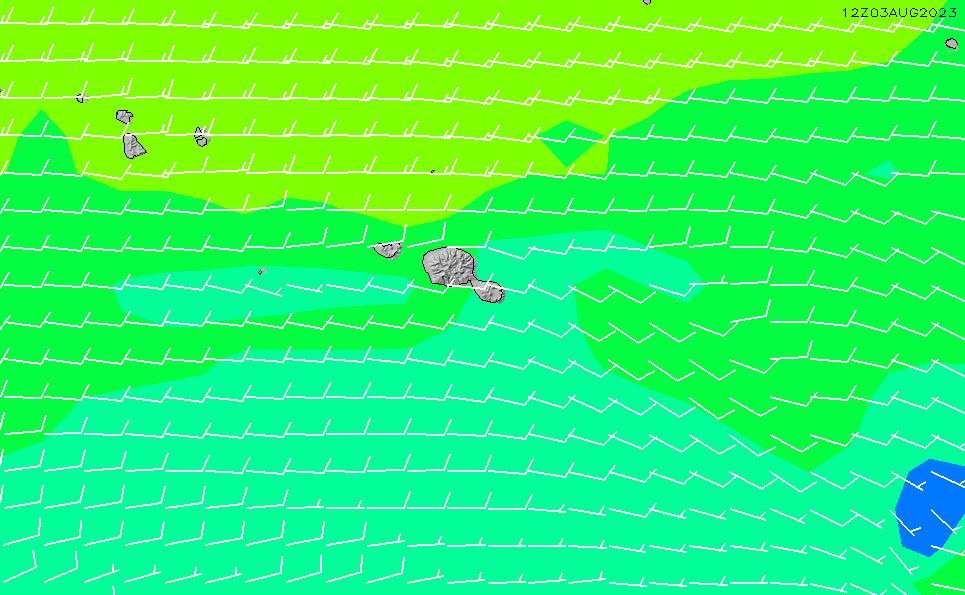 2021/3/2(火)16:00風速・風向