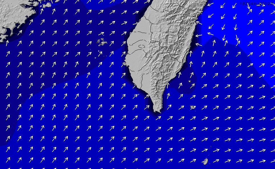 2020/4/2(木)8:00ポイントの波周期