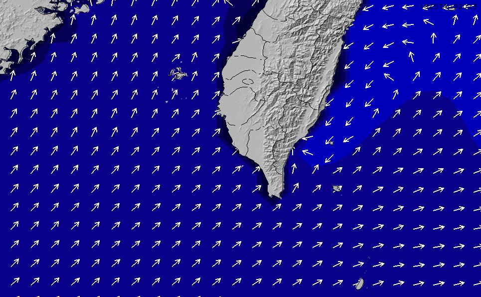 2021/10/20(水)20:00ポイントの波周期
