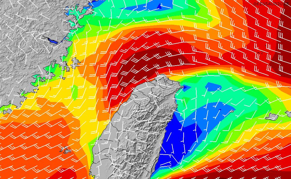 2020/6/5(金)14:00風速・風向