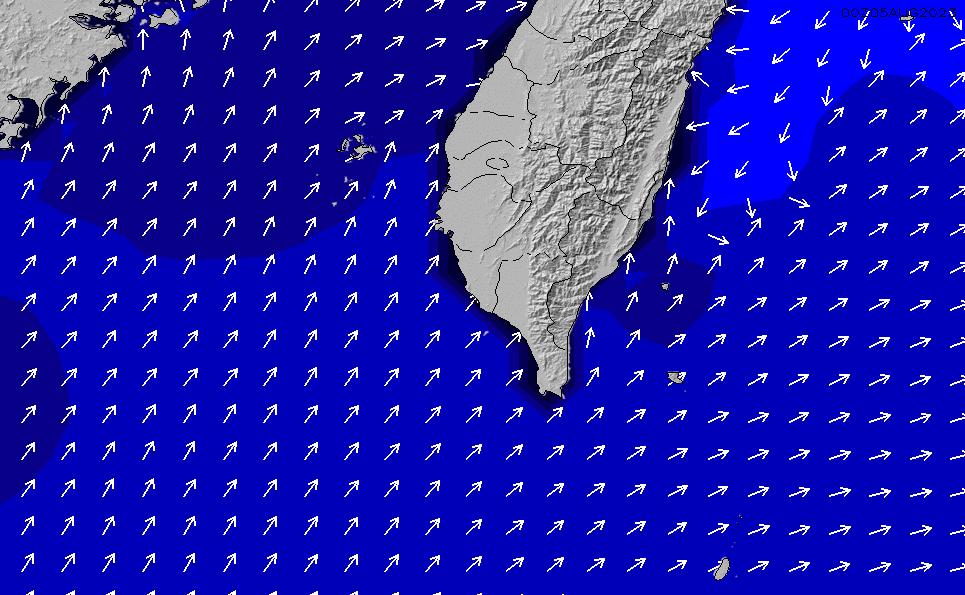 2020/10/29(木)8:00ポイントの波周期