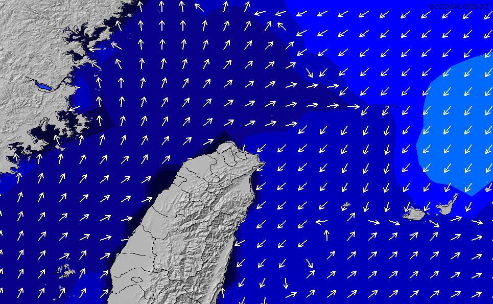 2021/3/2(火)14:00ポイントの波周期