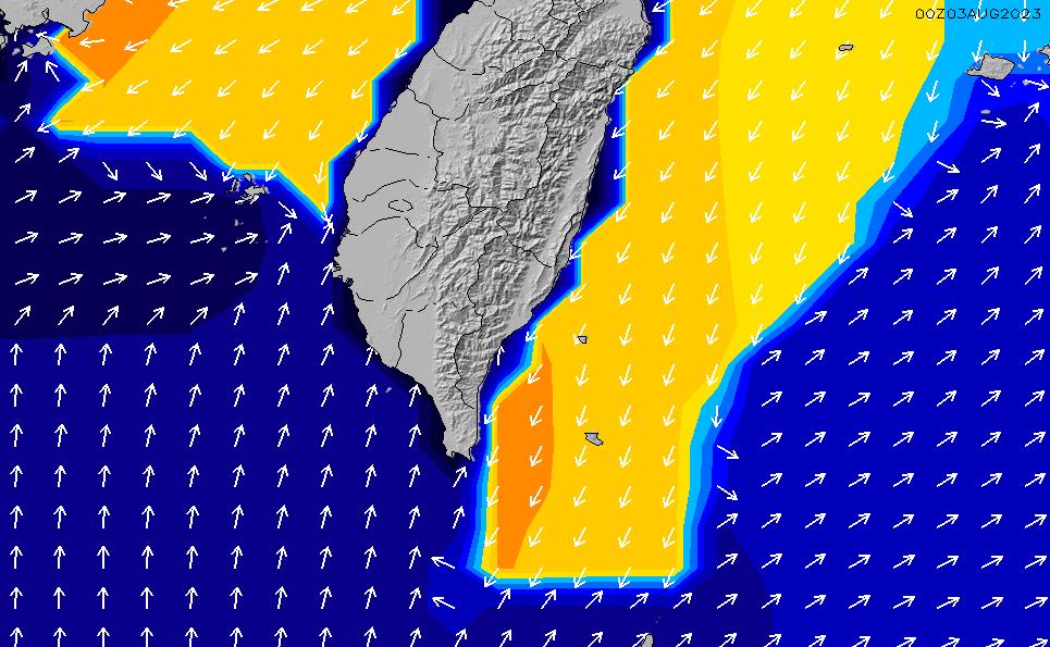 2021/5/12(水)14:00ポイントの波周期