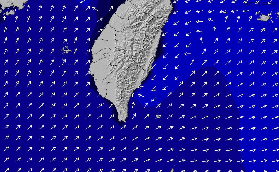 2021/5/9(日)8:00ポイントの波周期