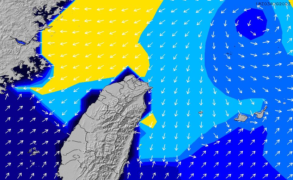 2020/9/21(月)14:00ポイントの波周期