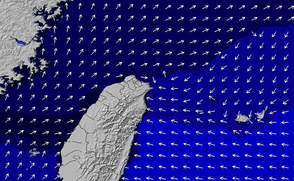 2021/5/19(水)20:00ポイントの波周期