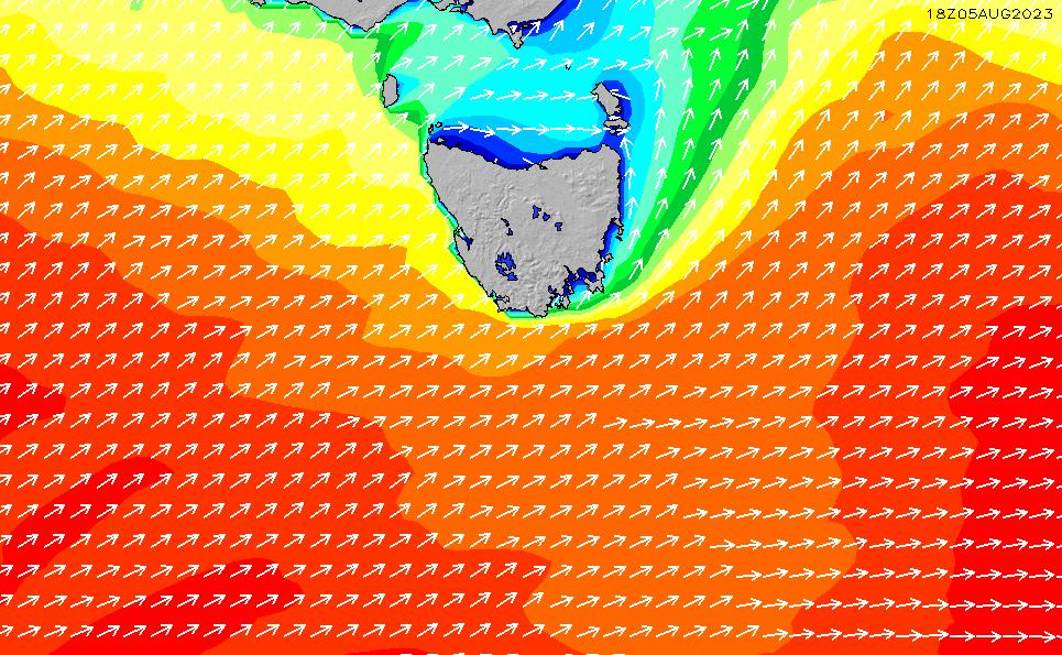 2021/10/20(水)23:00波高チャート