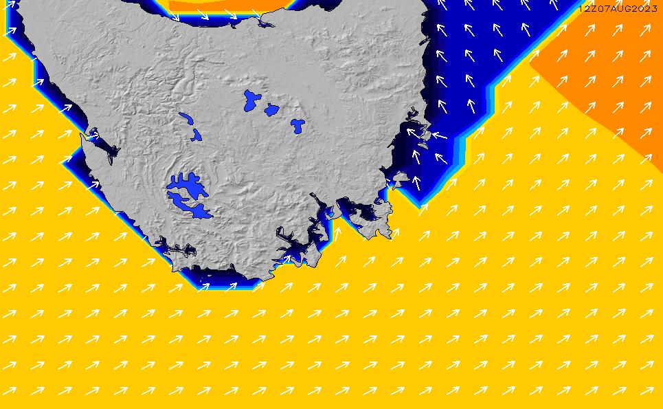 2021/10/20(水)23:00ポイントの波周期