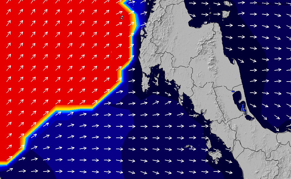 2020/9/25(金)7:00ポイントの波周期