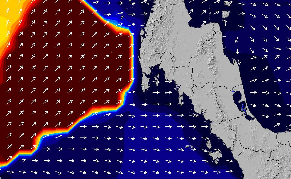 2021/2/26(金)19:00ポイントの波周期