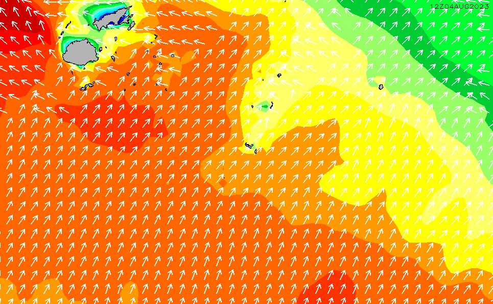 2021/5/12(水)7:00波高チャート