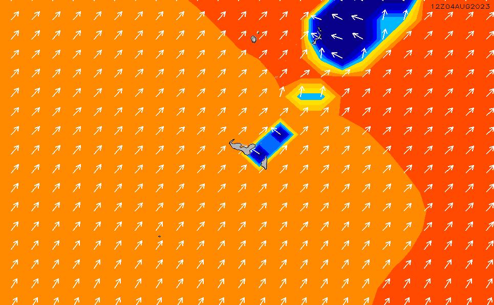 2021/5/12(水)7:00ポイントの波周期