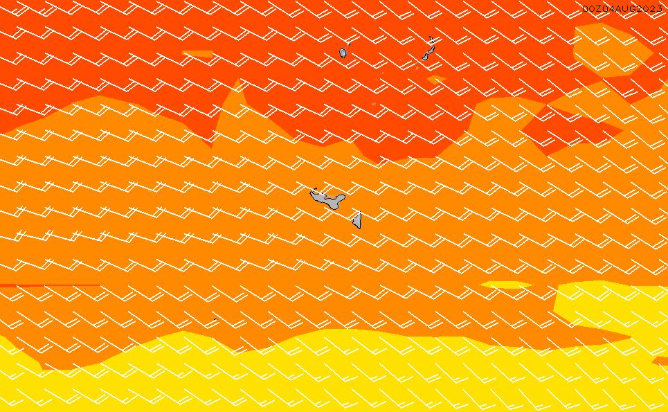 2021/5/12(水)7:00風速・風向