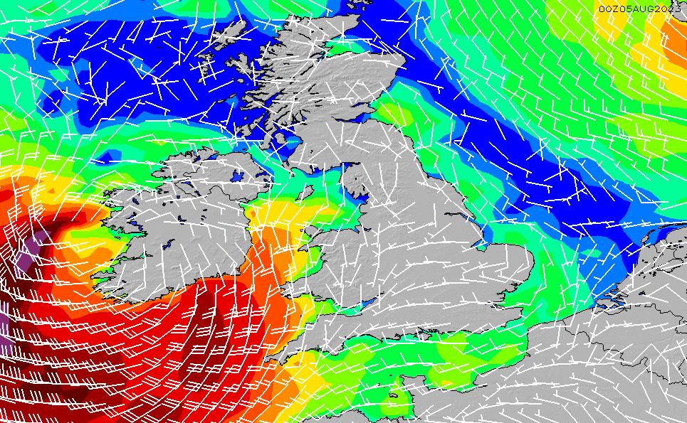 2021/3/3(水)18:00風速・風向