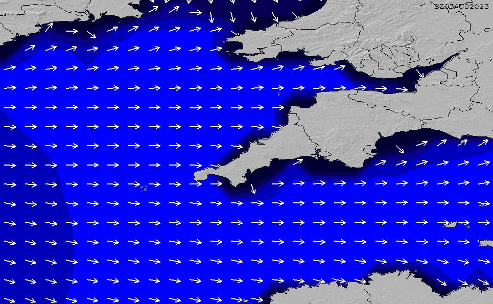 2021/3/2(火)0:00ポイントの波周期