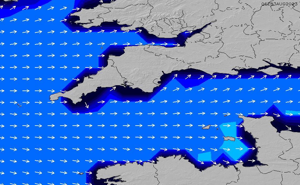 2021/7/28(水)7:00ポイントの波周期
