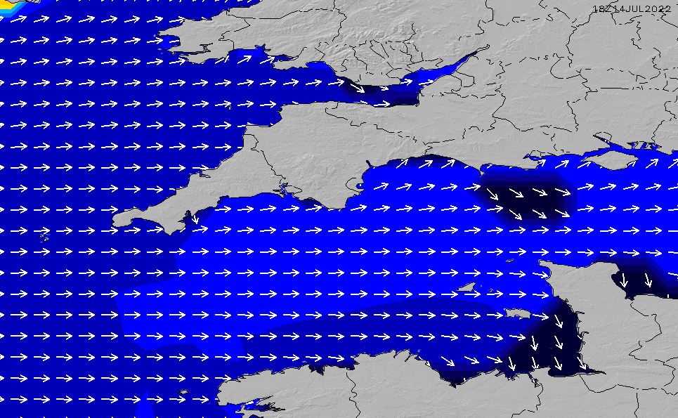 2021/3/6(土)6:00ポイントの波周期