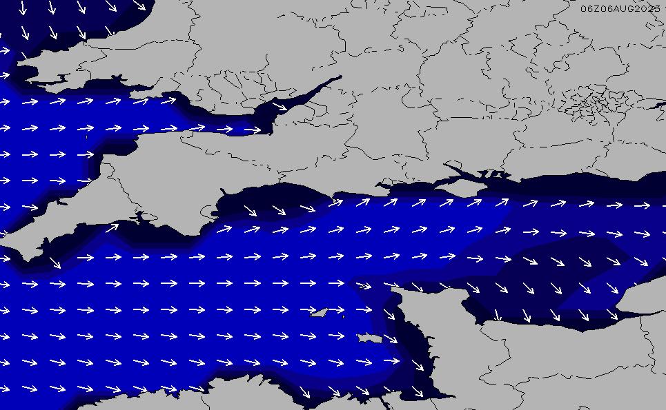 2020/9/23(水)19:00ポイントの波周期