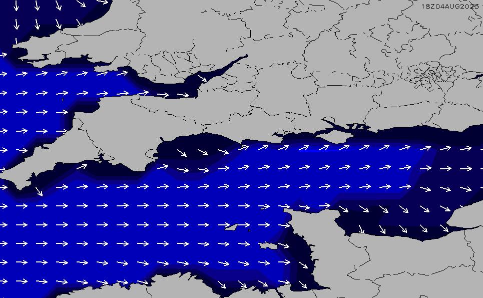 2021/1/26(火)18:00ポイントの波周期