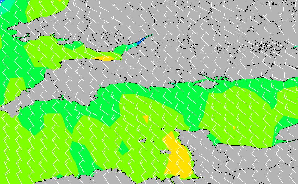 2020/9/23(水)19:00風速・風向