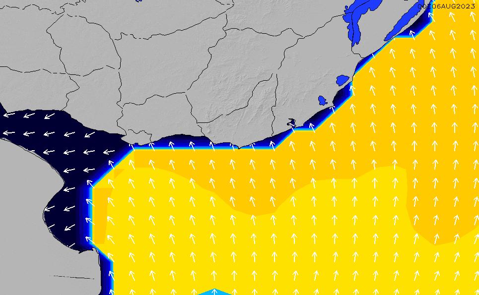 2021/3/6(土)9:00ポイントの波周期