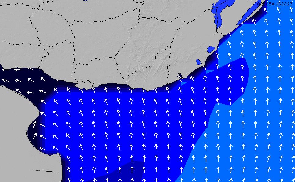 2021/2/28(日)21:00ポイントの波周期