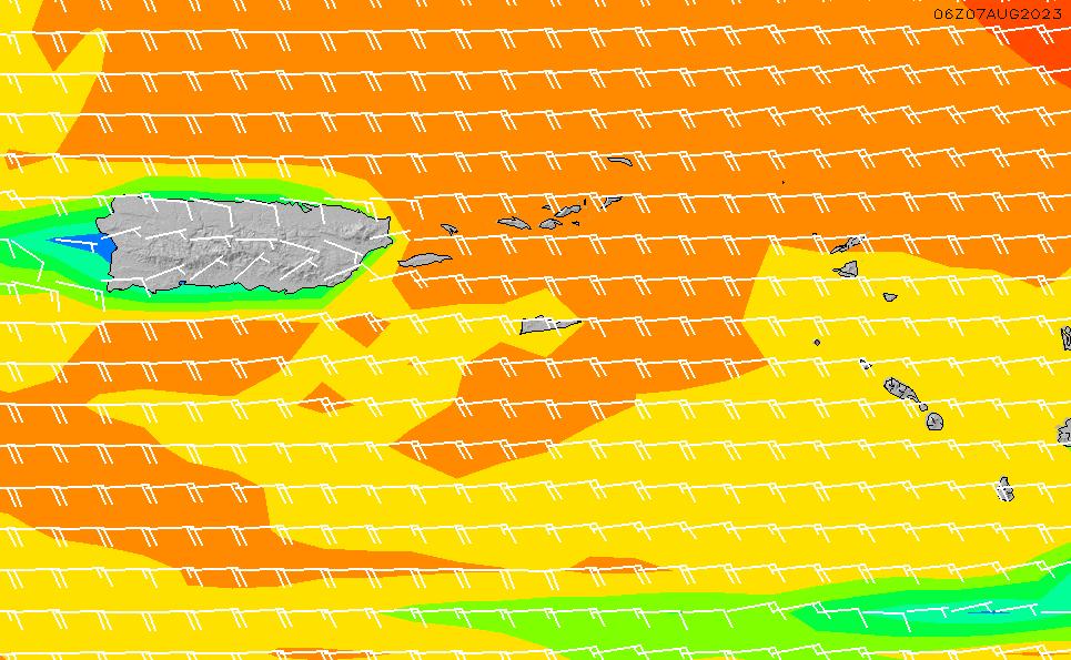 2021/3/4(木)16:00風速・風向