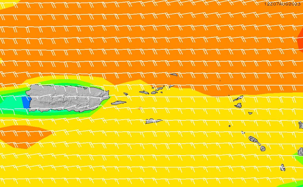 2020/9/24(木)14:00風速・風向