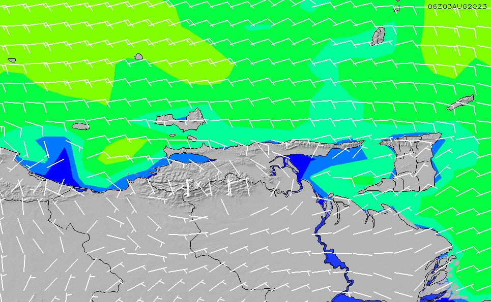 2020/9/26(土)16:00風速・風向