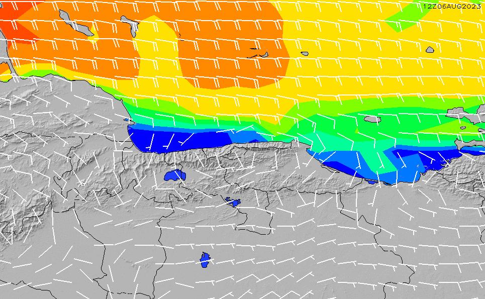 2020/9/28(月)4:00風速・風向