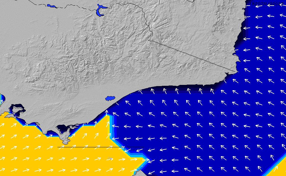 2021/9/21(火)16:00ポイントの波周期