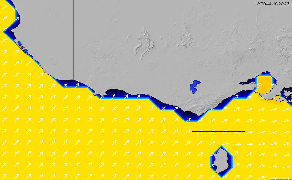 2021/3/1(月)11:00ポイントの波周期