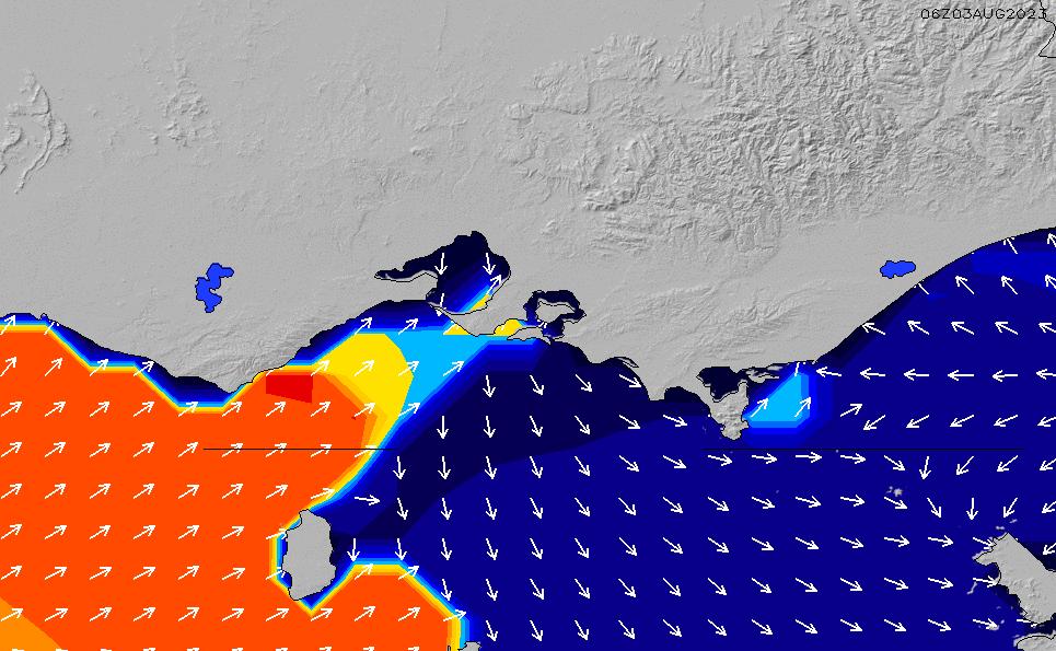 2020/4/2(木)11:00ポイントの波周期