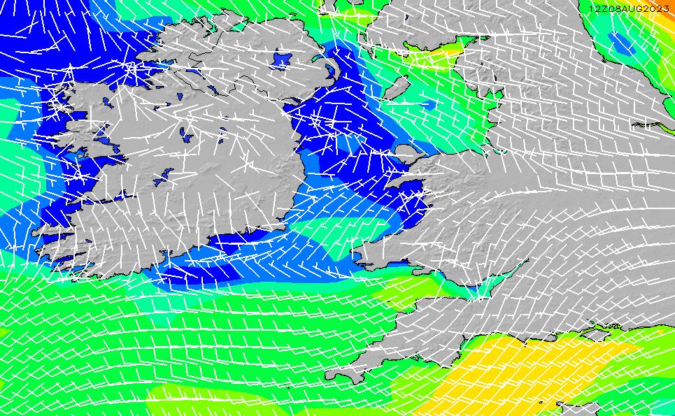 2021/5/9(日)1:00風速・風向