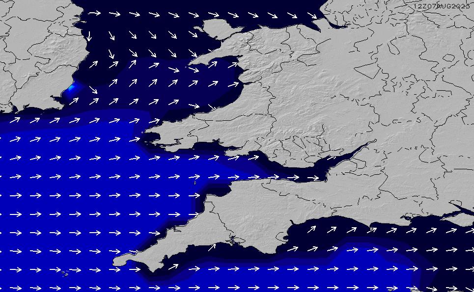 2021/5/9(日)1:00ポイントの波周期