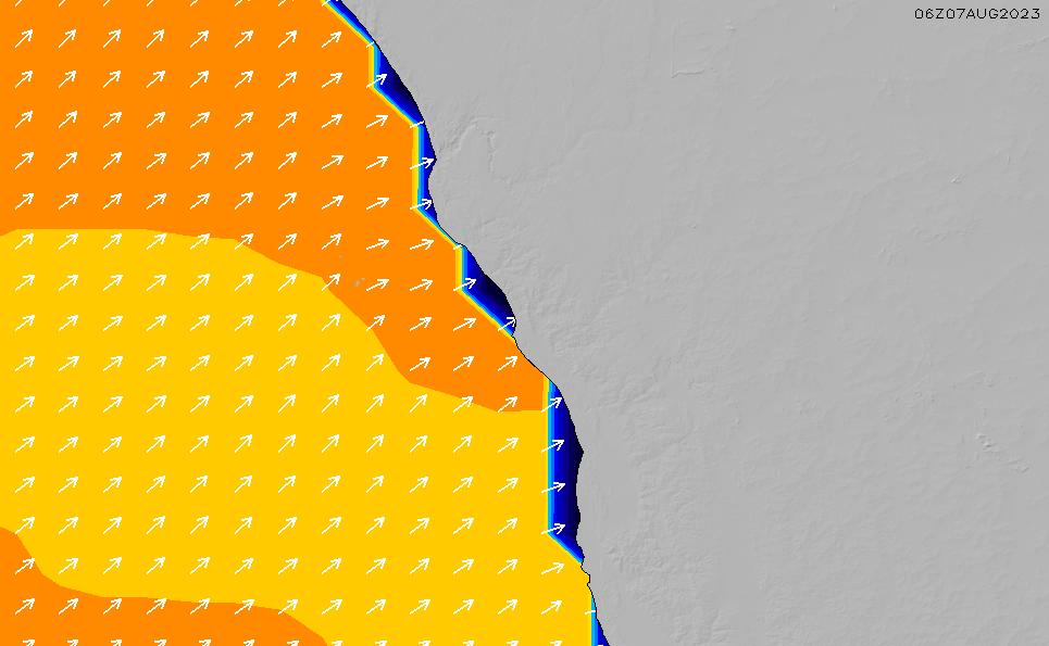 2020/4/2(木)20:00ポイントの波周期
