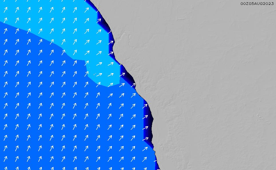 2020/9/28(月)8:00ポイントの波周期