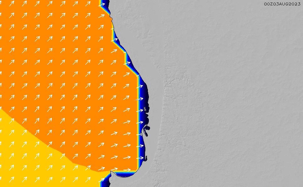 2021/2/28(日)8:00ポイントの波周期