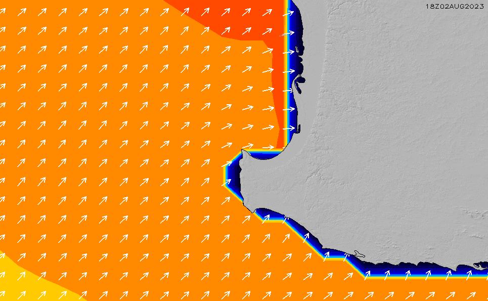 2020/5/31(日)20:00ポイントの波周期
